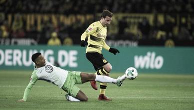 El Dortmund y el Wolfsburg, con la pólvora mojada