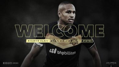 Ricardo Clark firma con Columbus Crew