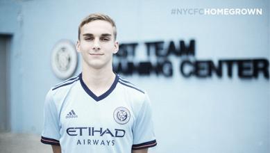 Josh Sands, primer 'Homegrown Player' de NYCFC