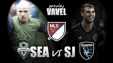 Previa Seattle Sounders FC - San Jose Earthquakes: cumbre por el PlayOff