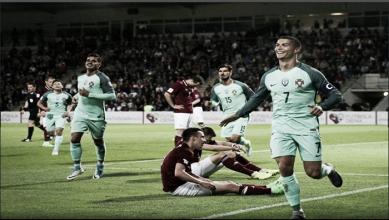 Portugal gana con contundencia y mantiene el paso
