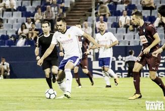 Borja Iglesias, el mejor frente al CD Tenerife según la afición