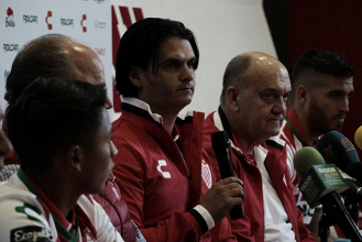 """Mario Hernández Lash: """"Esperamos que la próxima semana tengamos equipo completo"""""""