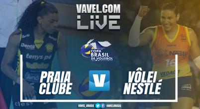 Resultado Praia Clube x Osasco pela decisão da Copa Brasil de Vôlei (0-3)
