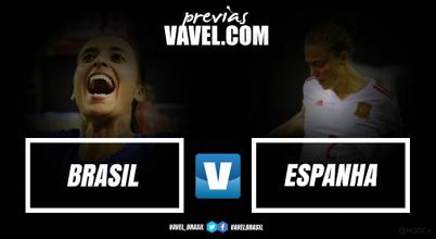 Seleção Brasileira feminina inicia amistosos internacionais de junho contra a Espanha