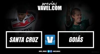Em situações opostas na tabela, Goiás e Santa Cruz medem forças pela Série B