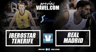 Previa Iberostar Tenerife- Real Madrid: a seguir con la imbatibilidad en liga