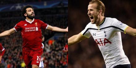Salah (25) e Kane (24), i trascinatori di Liverpool e Tottenham