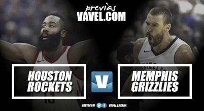 Houston Rockets - Memphis Grizzlies: Duelo de Invictos en la salvaje Conferencia Oeste