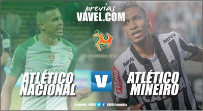 Previa: Atlético Nacional - Atlético Mineiro: Los 'verdolagas' arrancan competencia en el 2018