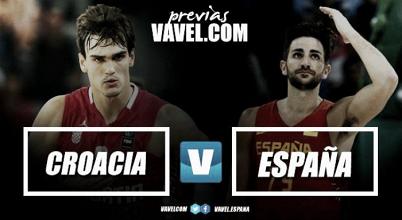 Previa Croacia vs España: duelo contra el rival más duro del grupo