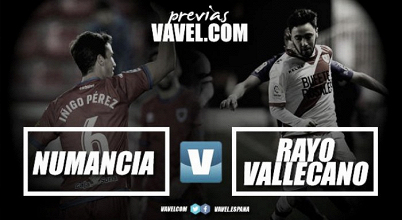 Previa Numancia - Rayo Vallecano: tres puntos para romper un empate