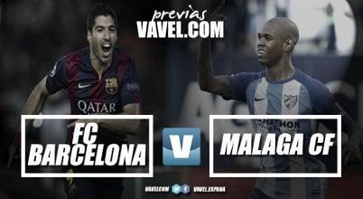Barcellona vs Malaga, testa - coda
