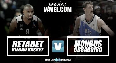 Previa RETAbet Bilbao Basket - Monbus Obradoiro: en tierra de nadie