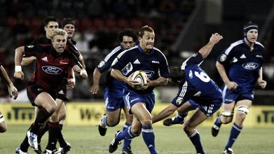 Blues y Crusaders, acérrimos rivales, animan la décima cuarta semana del Super Rugby