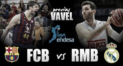 FC Barcelona Lassa - Real Madrid Baloncesto: duelo en la cumbre