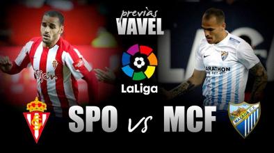 Previa Sporting-Málaga CF: Solo vale ganar