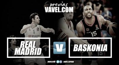 Previa Real Madrid - Baskonia: a continuar la racha