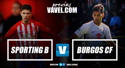 Previa Sporting B - Burgos CF: duelo de dinámicas similares