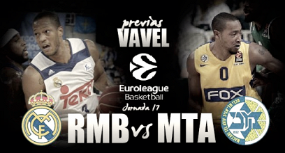 Previa Real Madrid - Maccabi Tel Aviv: el 'clásico' europeo