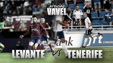 Levante UD - CD Tenerife: toca despertar de un peligroso sueño