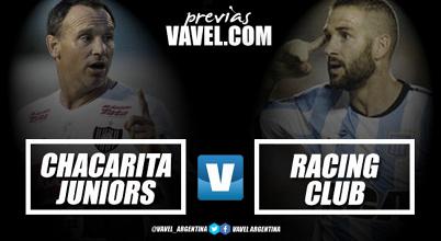 Previa Racing Club - Chacarita: Efectividad contra necesidad