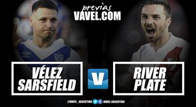 Previa Vélez Sarsfield vs River Plate: la urgencia de ganar