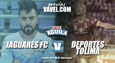 Jaguares recibe al Tolima por la fecha 4 de la Liga