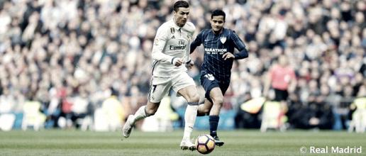 El Real Madrid sólo ha perdido una vez contra el Málaga