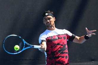 ATP San Pietroburgo: male Fognini, avanza Wawrinka