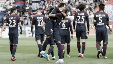 Ligue 1 - Il Psg scherza il Montpellier: 6-2 nello show dell'attacco di Emery