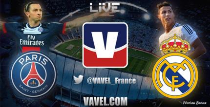 Live PSG - Real Madrid, le match en direct