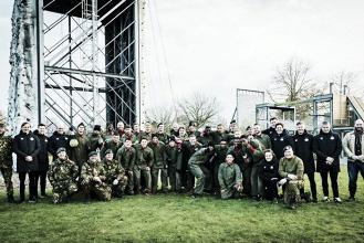 El PSV entrena con el Real Ejército de los Países Bajos
