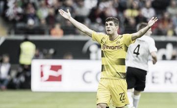 El Borussia pierde dos puntos en un partido frenético.