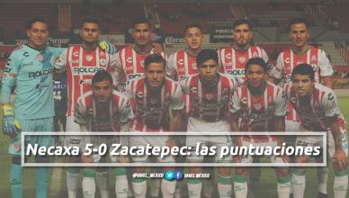 Necaxa 5-0 Zacatepec: puntuaciones de Necaxa en la jornada 2 de la Copa MX Clausura 2018