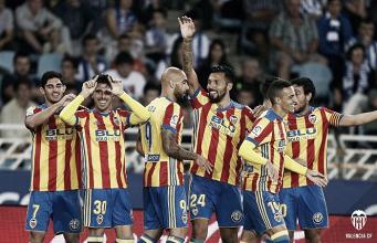 Real Sociedad - Valencia: las puntuaciones del Valencia, jornada 6 de La Liga