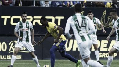 Cádiz CF - Córdoba CF: puntuaciones del Córdoba CF, jornada 22 de LaLiga 1,2,3