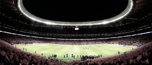 Novo estádio do Atlético de Madrid, Wanda Metropolitano sediará final da UCL em 2019
