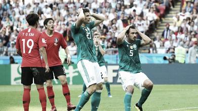 República de Corea - Alemania: puntuaciones de Alemania de la tercera jornada del Grupo F