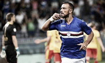 Quagliarella trascina la Sampdoria nella vittoria sul Benevento