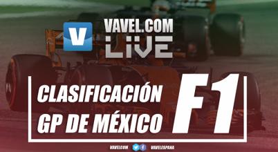 Un error le cuesta la pole a Lewis Hamilton. Vettel, lider en México