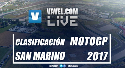 Clasificación GP San Marino 2017 de MotoGP en VIVO online en tiempo real