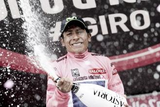 Nairo Quintana triunfa no Giro de Itália 2014