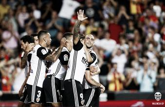 El Valencia llega invicto a la novena jornada por quinta vez en su historia