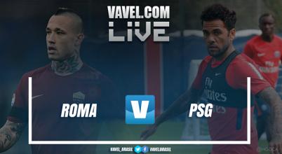 Resultado Roma x PSG amistoso AO VIVO da International Champions Cup (1(3)-(5)1)
