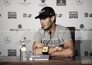 """Rafael Nadal: """"Estoy muy feliz de estar en otra final en Madrid"""""""