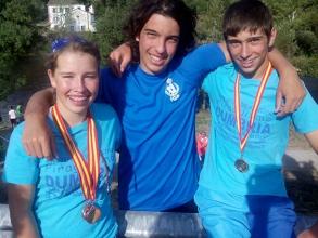 Galicia queda tercera en el Campeonato de Jóvenes Promesas de Slalom
