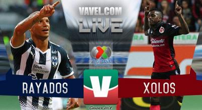 Resultado del Monterrey 0-0 Xolos en Liga MX 2018