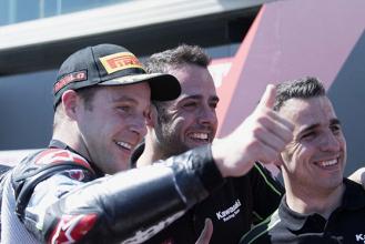 SBK, Aragon: in Gara1 vince ancora Rea