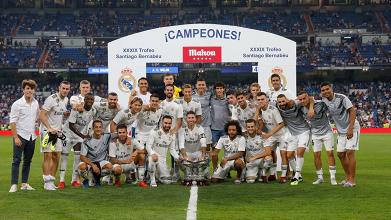 Real Madrid, buona la prima al Bernabeu senza Ronaldo